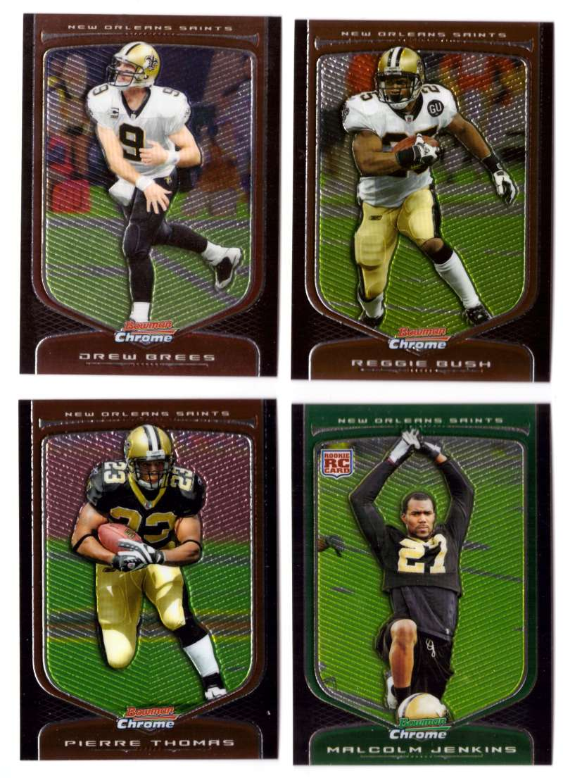 2009 Bowman Chrome Football - NEW ORLEANS SAINTS
