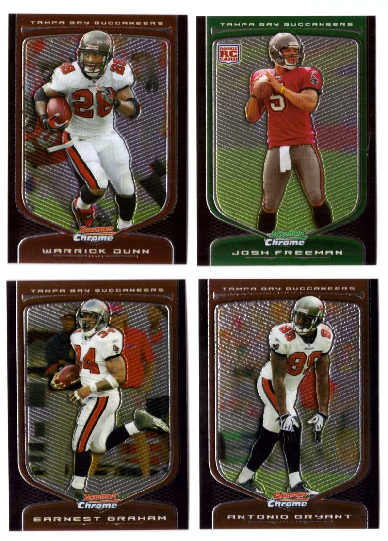 2009 Bowman Chrome Football - TAMPA BAY BUCCANEERS