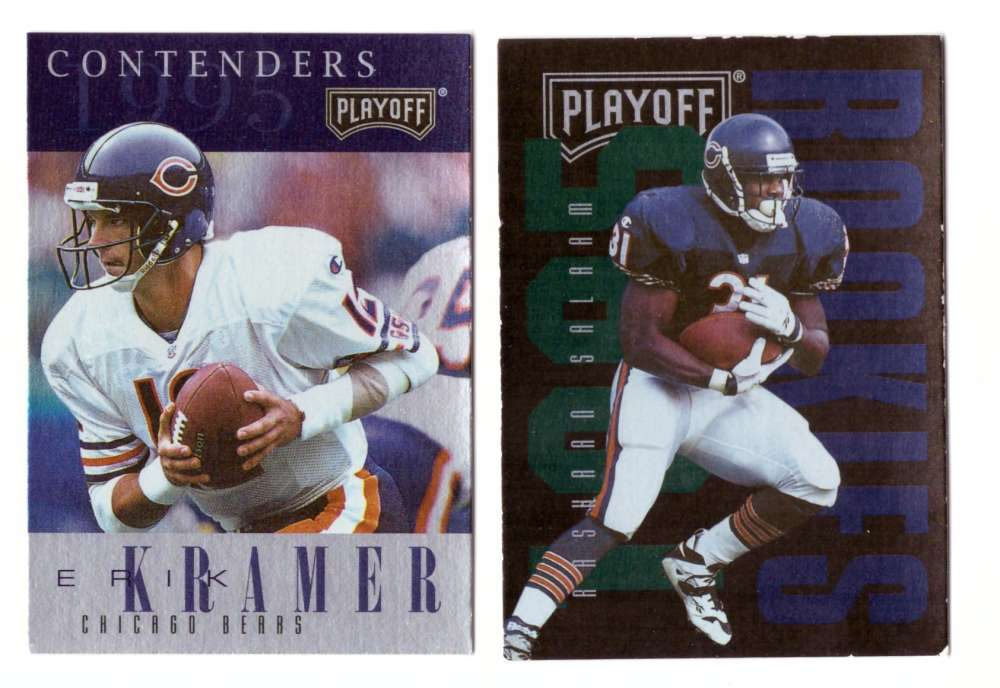 1995 Playoff Contenders Football Team Set - CHICAGO BEARS