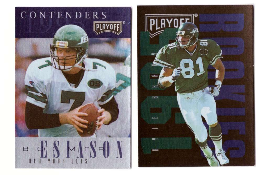 1995 Playoff Contenders Football Team Set - NEW YORK JETS