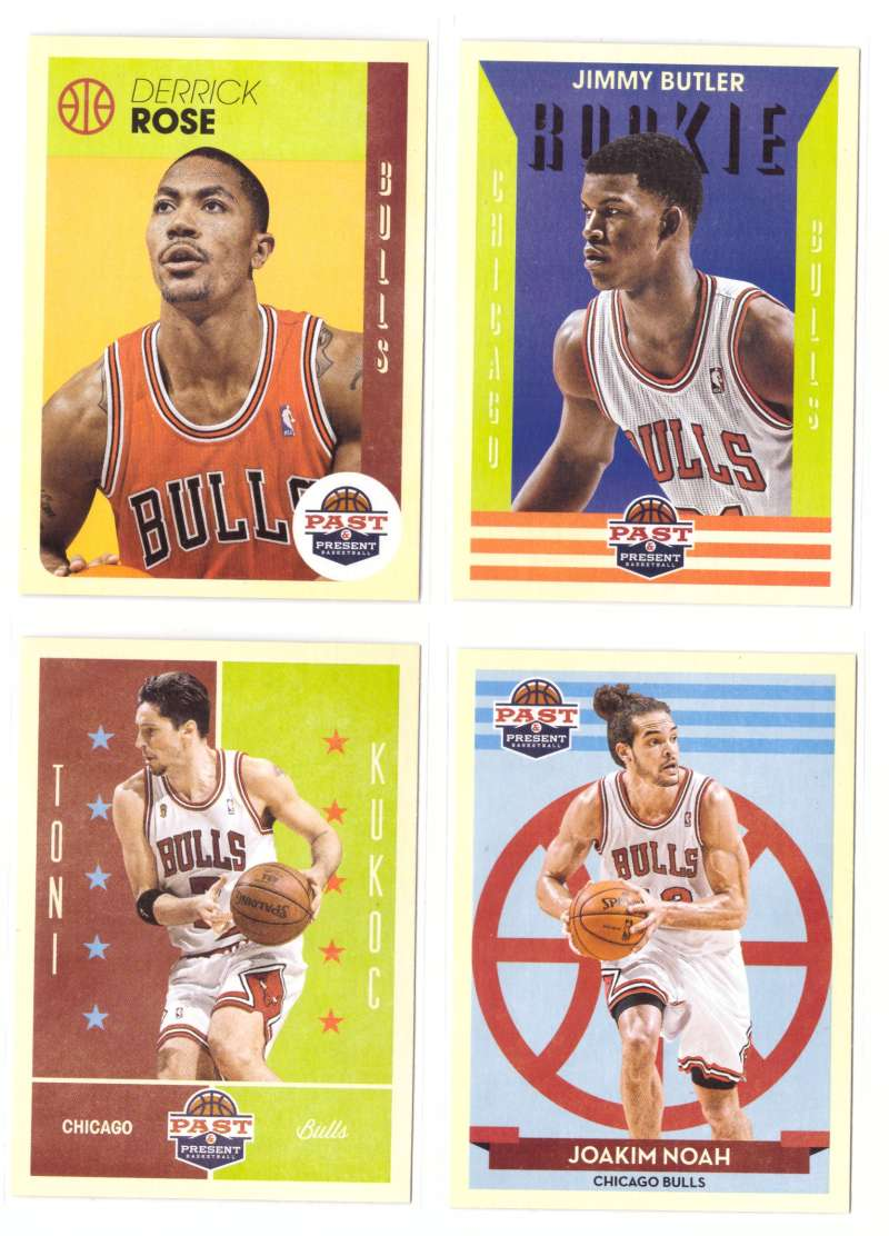 2012-13 Panini Past and Present Basketball Team Set - Chicago Bulls