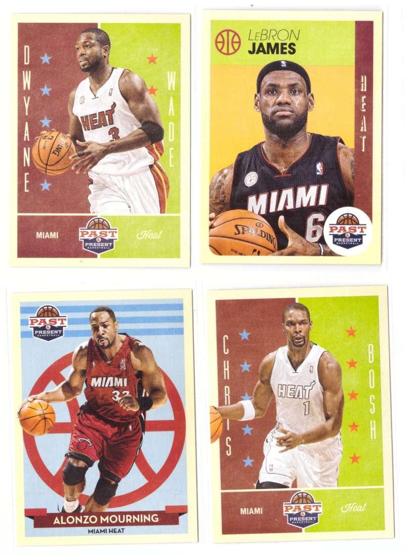 2012-13 Panini Past and Present Basketball Team Set - Miami Heat