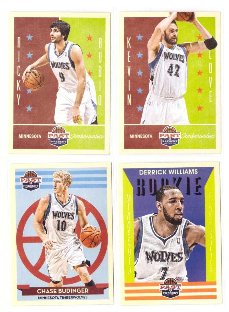 2012-13 Panini Past and Present Basketball Team Set - Minnesota Timberwolves