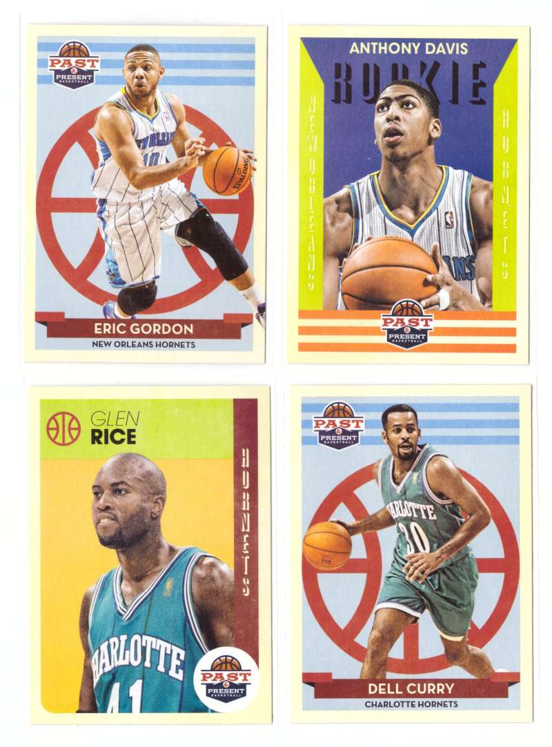 2012-13 Panini Past and Present Basketball Team Set - New Orleans Hornets