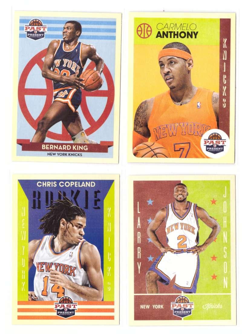 2012-13 Panini Past and Present Basketball Team Set - New York Knicks