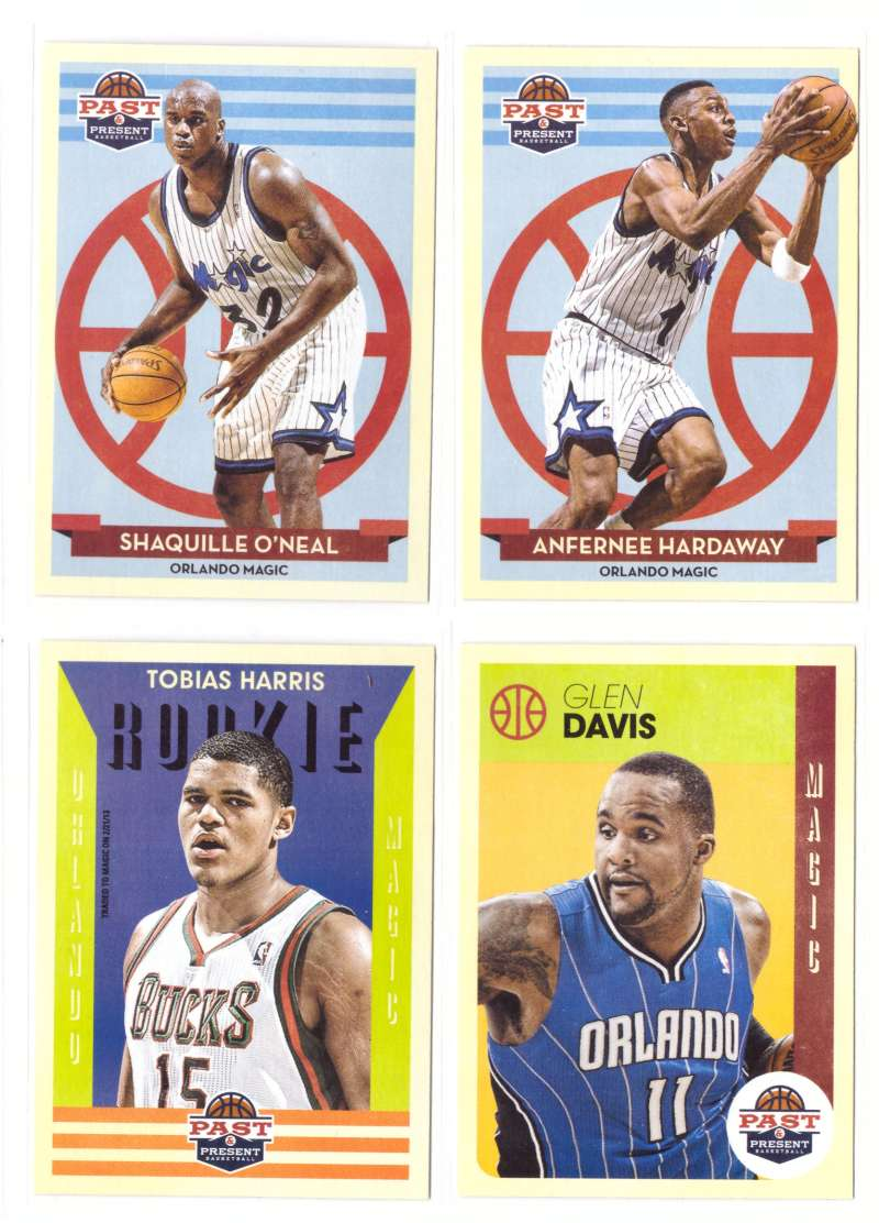 2012-13 Panini Past and Present Basketball Team Set - Orlando Magic