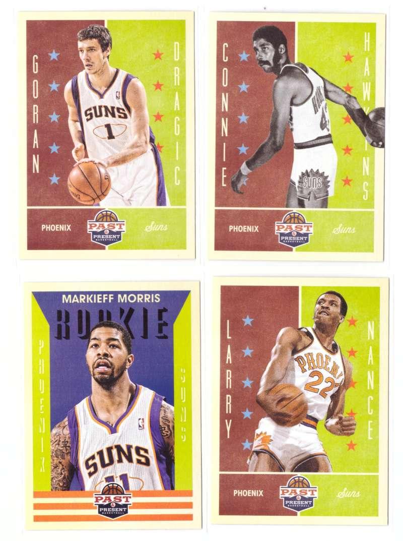 2012-13 Panini Past and Present Basketball Team Set - Phoenix Suns