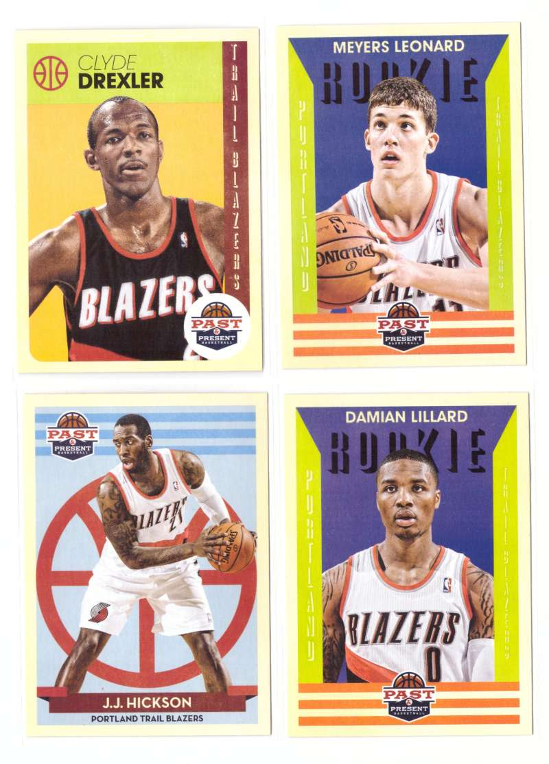 2012-13 Panini Past and Present Basketball Team Set - Portland Trail Blazers