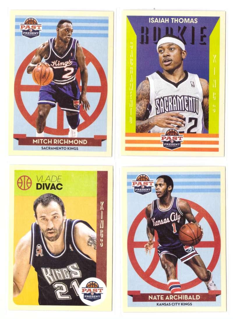 2012-13 Panini Past and Present Basketball Team Set - Sacramento Kings