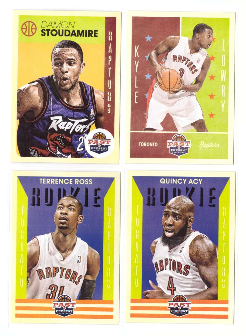 2012-13 Panini Past and Present Basketball Team Set - Toronto Raptors