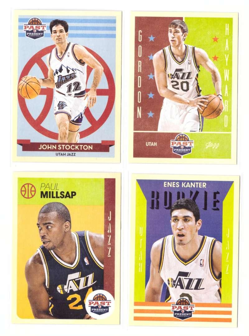 2012-13 Panini Past and Present Basketball Team Set - Utah Jazz