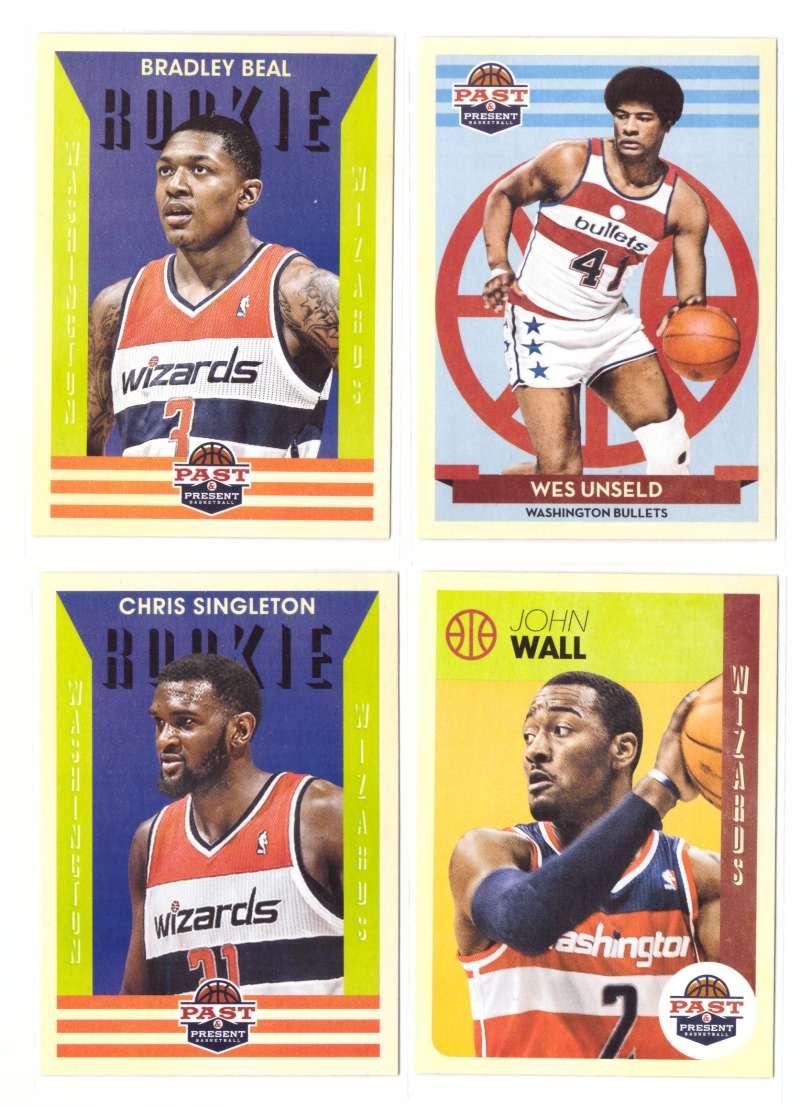 2012-13 Panini Past and Present Basketball Team Set - Washington Wizards