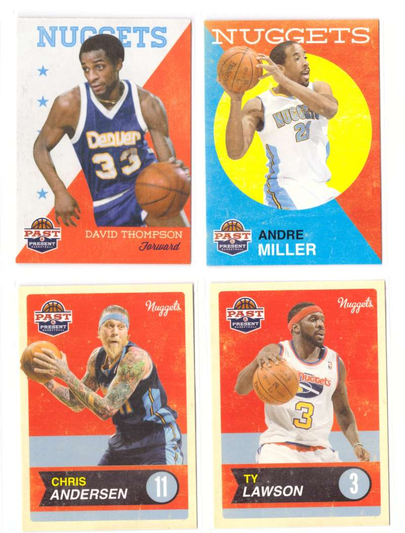 2011-12 Panini Past and Present Basketball Team Set - Denver Nuggets