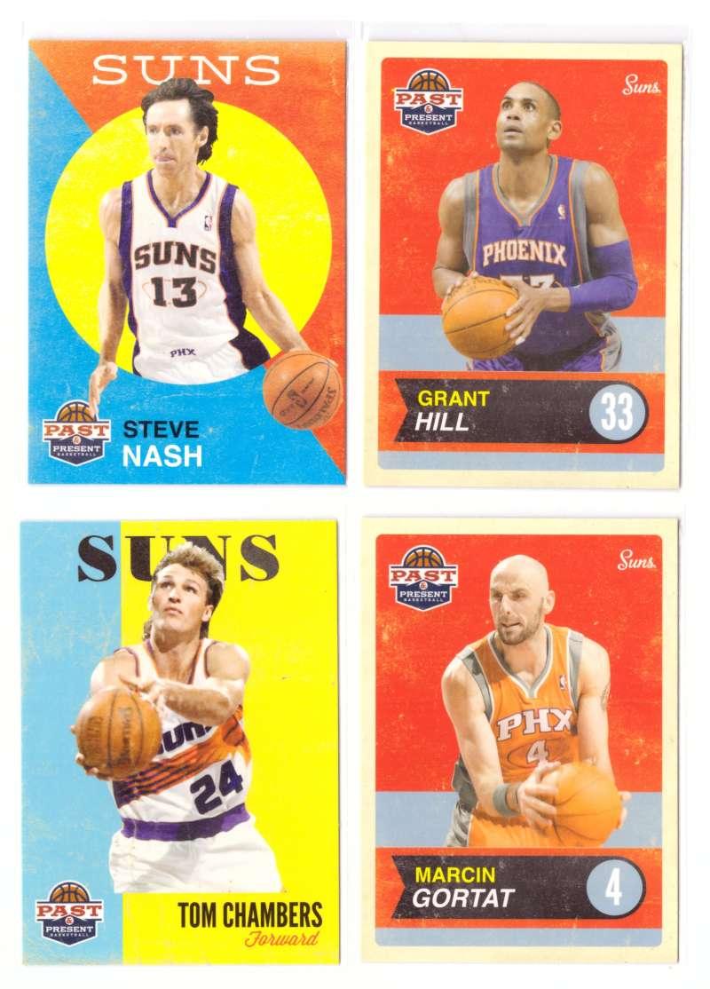 2011-12 Panini Past and Present Basketball Team Set - Phoenix Suns