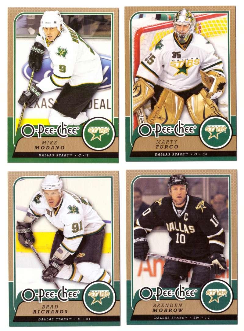2008-09 O-Pee-Chee OPC Hockey (Base 1-500) Team Set - Dallas Stars