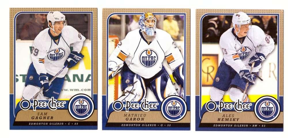 2008-09 O-Pee-Chee OPC Hockey (Base 1-500) Team Set - Edmonton Oilers