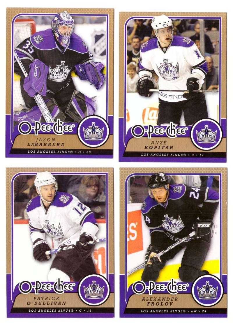 2008-09 O-Pee-Chee OPC Hockey (Base 1-500) Team Set - Los Angeles Kings
