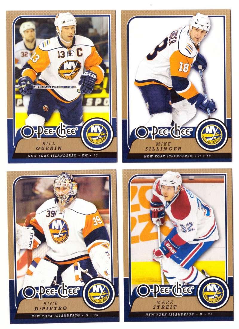 2008-09 O-Pee-Chee OPC Hockey (Base 1-500) Team Set - New York Islanders