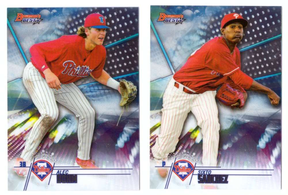 2018 Bowman's Best Top Prospects - PHILADELPHIA PHILLIES