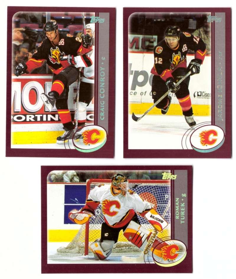 2002-03 Topps Hockey Team Set (1-330) - Calgary Flames