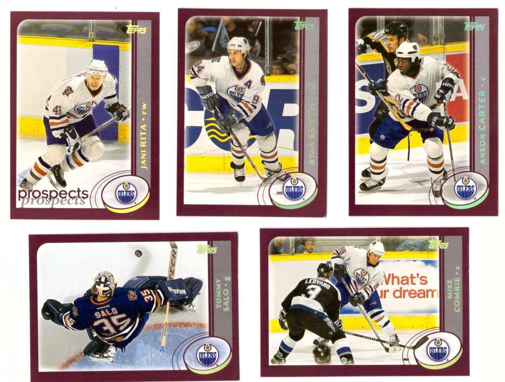 2002-03 Topps Hockey Team Set (1-330) - Edmonton Oilers