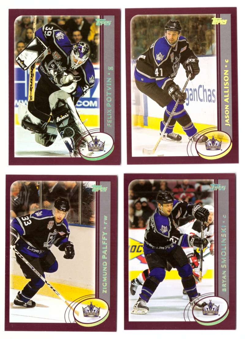 2002-03 Topps Hockey Team Set (1-330) - Los Angeles Kings