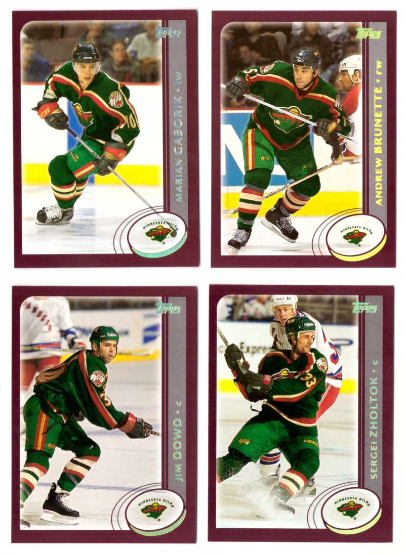 2002-03 Topps Hockey Team Set (1-330) - Minnesota Wild