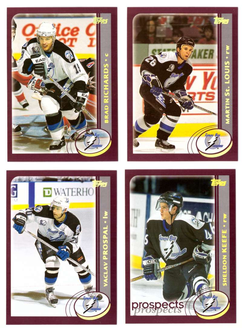 2002-03 Topps Hockey Team Set (1-330) - Tampa Bay Lightning