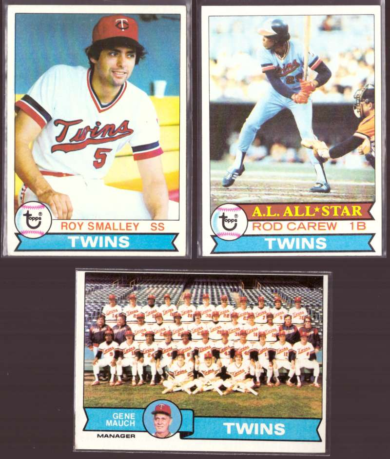 1979 Topps (EX condition D) - MINNESOTA TWINS