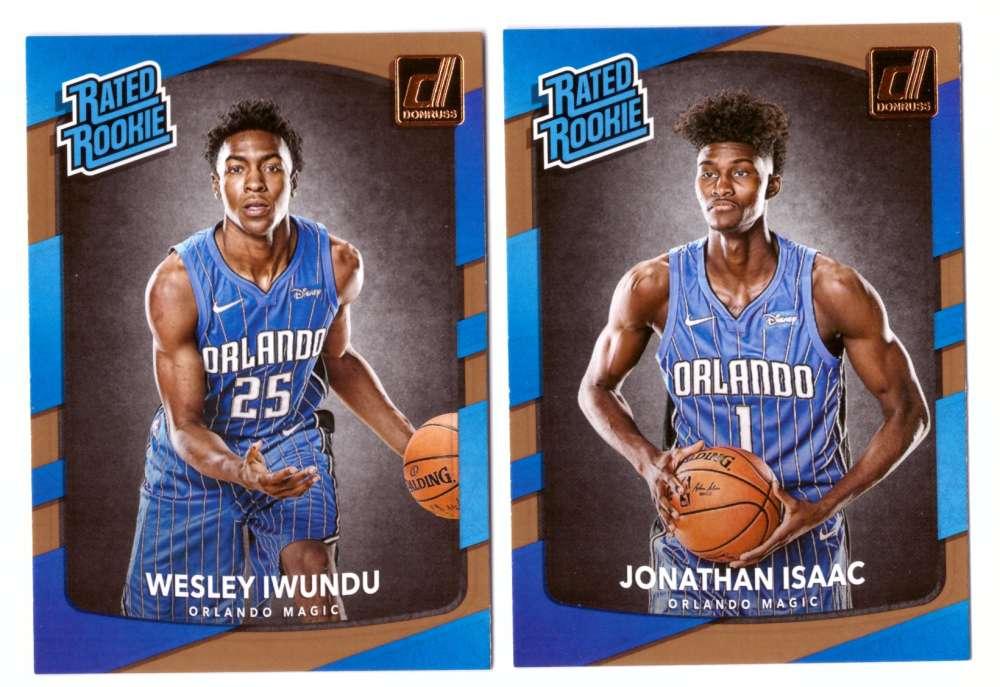 2017-18 Donruss Basketball Team Set - Orlando Magic