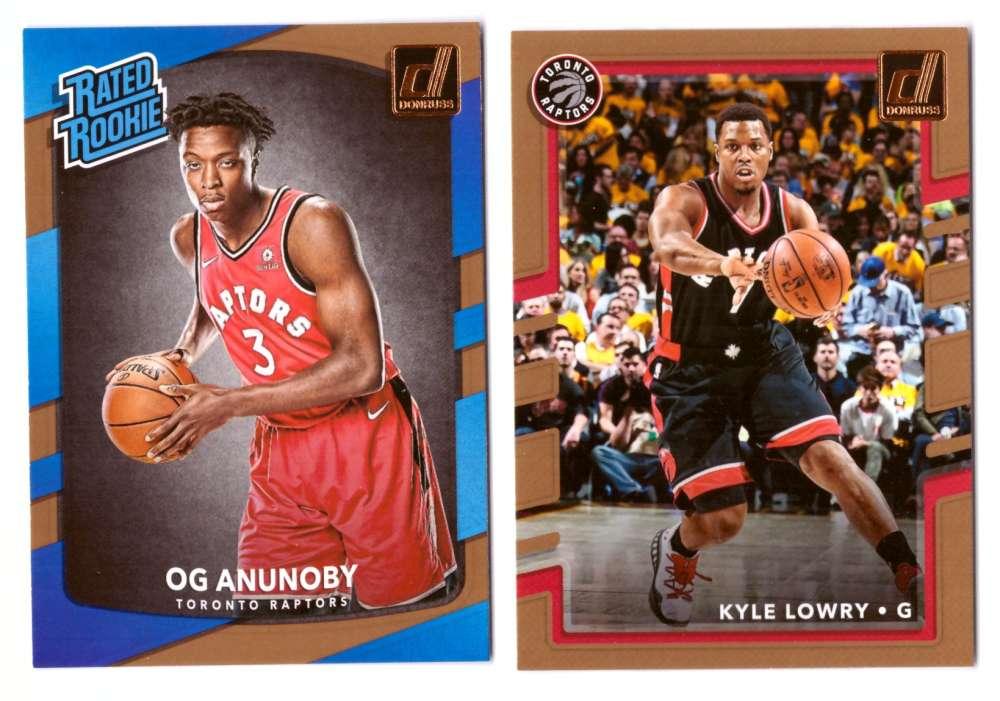 2017-18 Donruss Basketball Team Set - Toronto Raptors