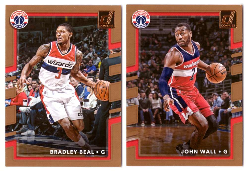 2017-18 Donruss Basketball Team Set - Washington Wizards