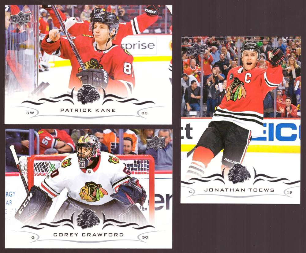 2018-19 Upper Deck Hockey (Base) Team Set - Chicago Blackhawks