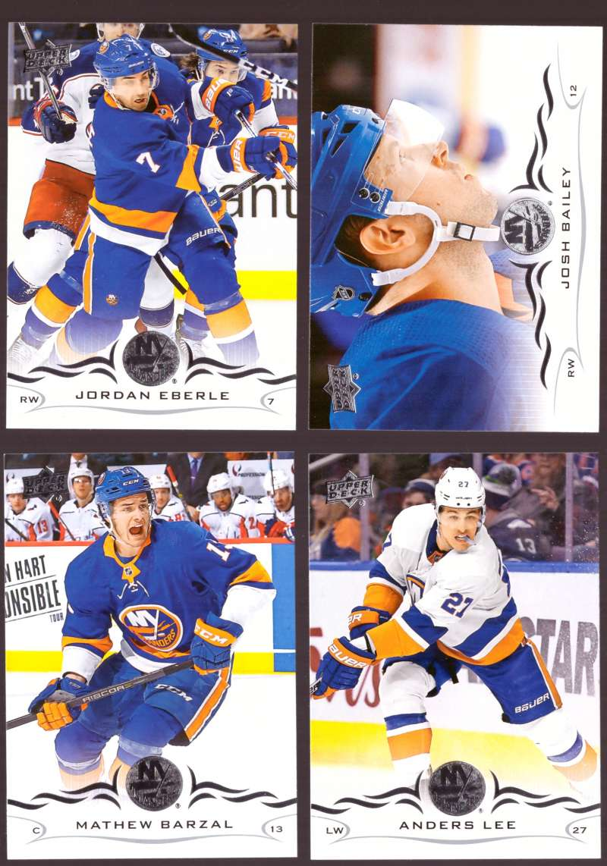 2018-19 Upper Deck Hockey (Base) Team Set - New York Islanders