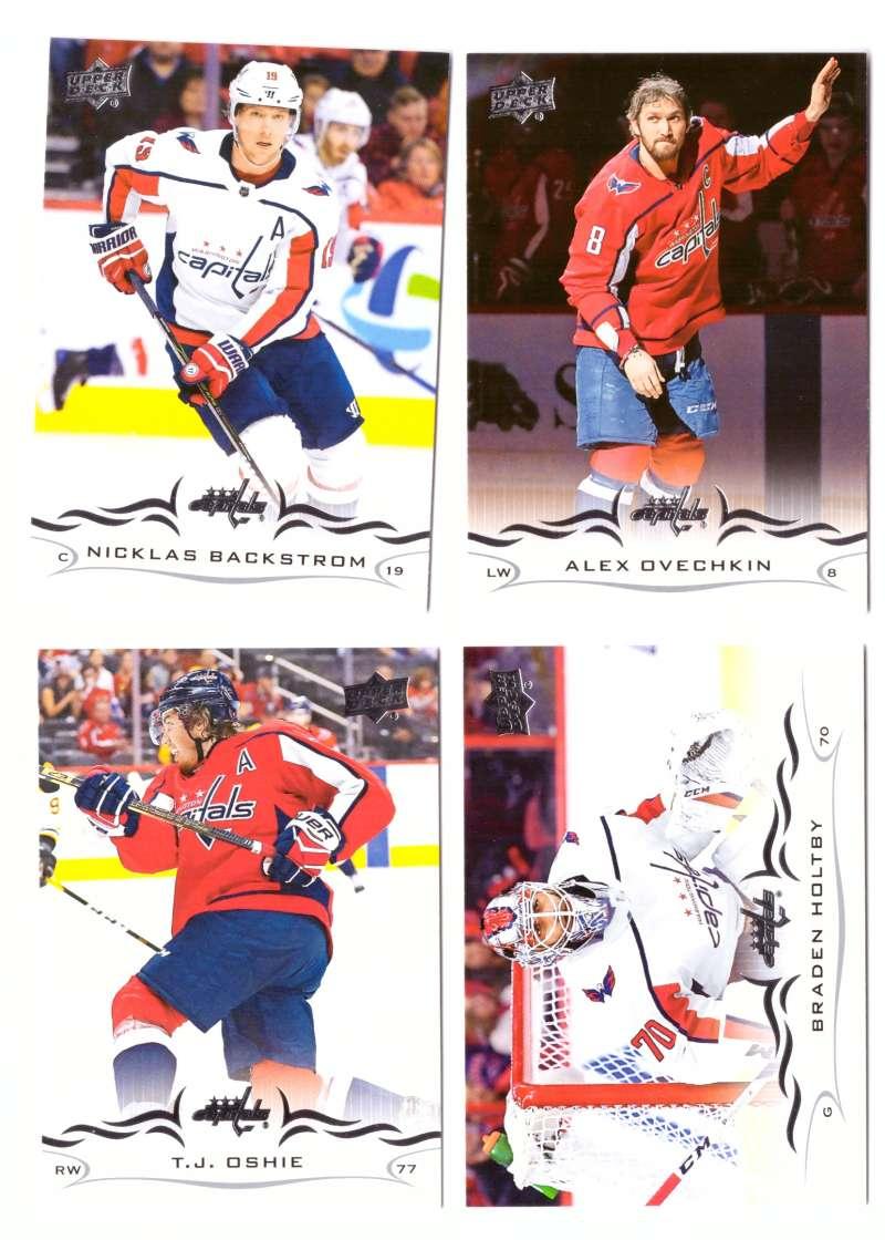 2018-19 Upper Deck Hockey (Base) Team Set - Washington Capitals