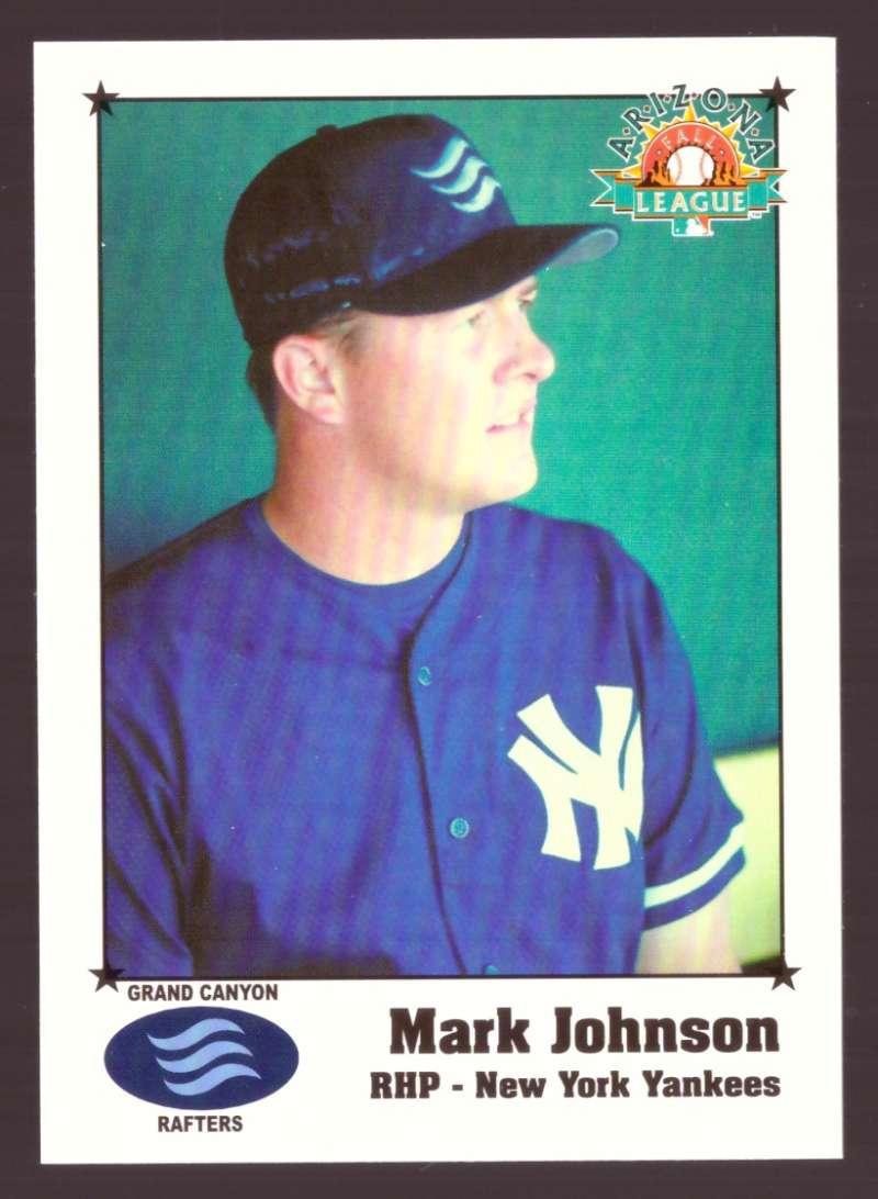 1999 Arizona Fall League - NEW YORK YANKEES