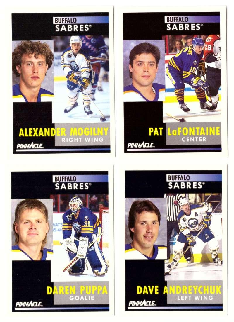 1991-92 Pinnacle Hockey Team Set - Buffalo Sabres