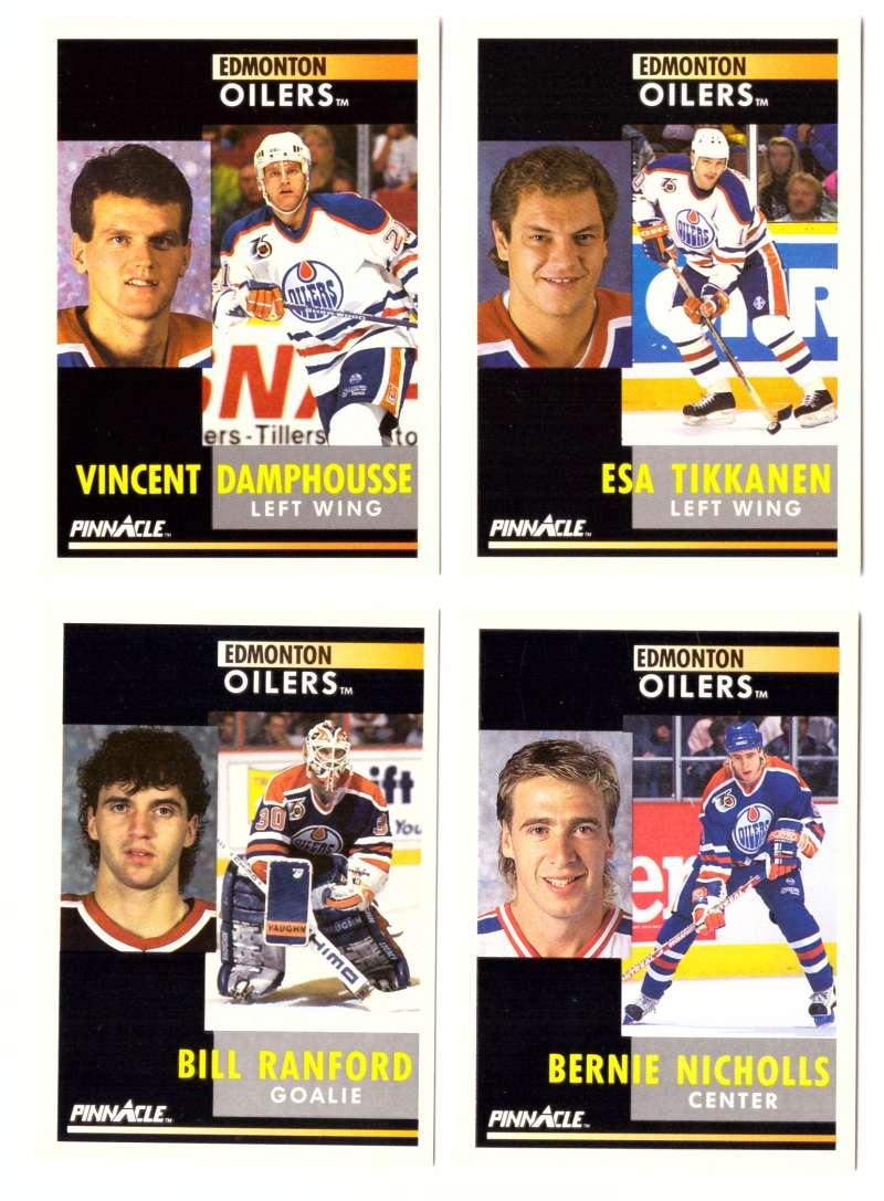 1991-92 Pinnacle Hockey Team Set - Edmonton Oilers