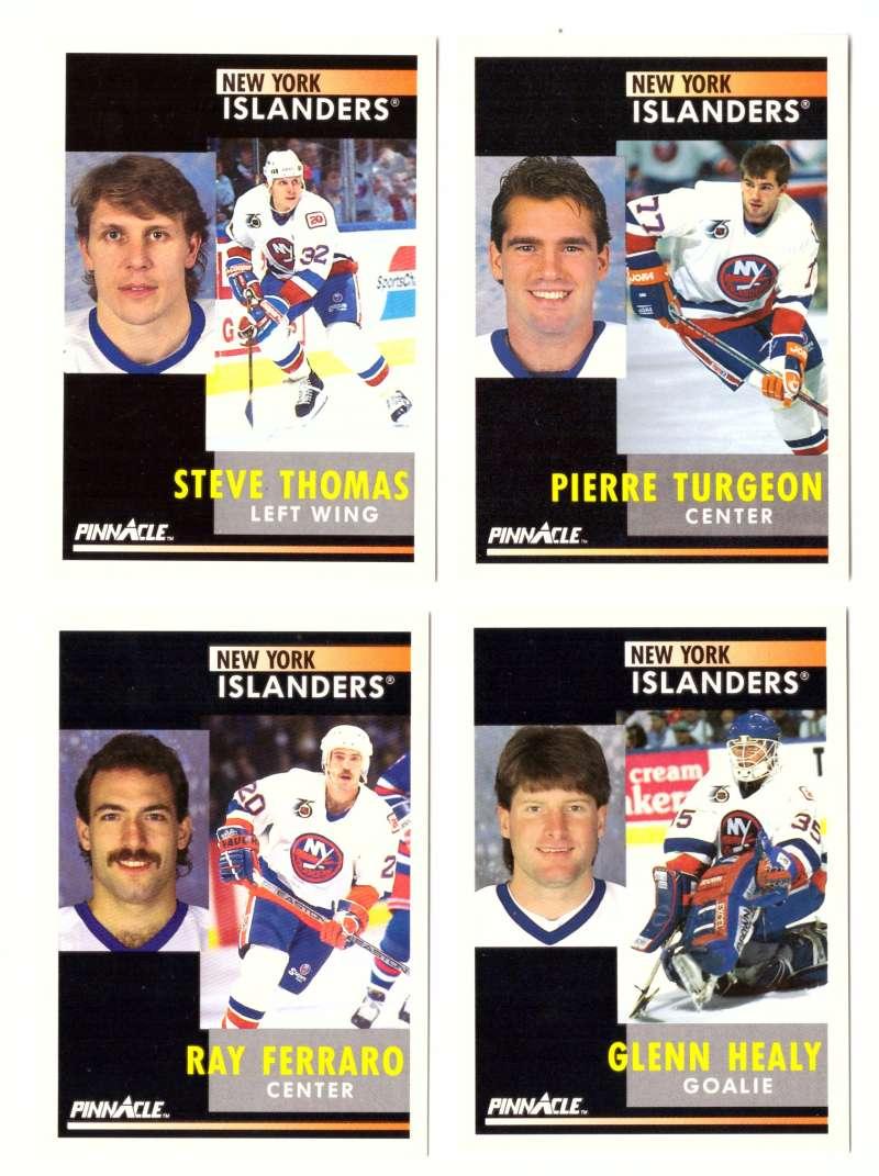 1991-92 Pinnacle Hockey Team Set - New York Islanders