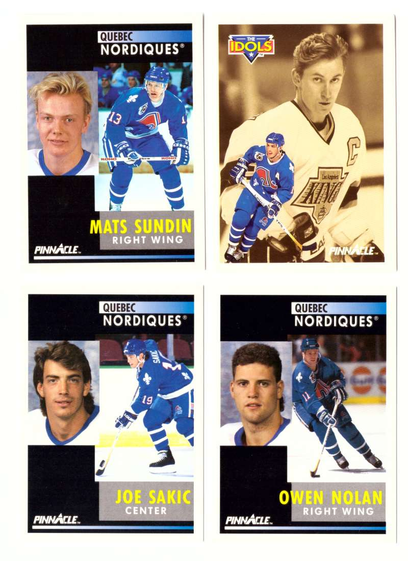 1991-92 Pinnacle Hockey Team Set - Quebec Nordiques