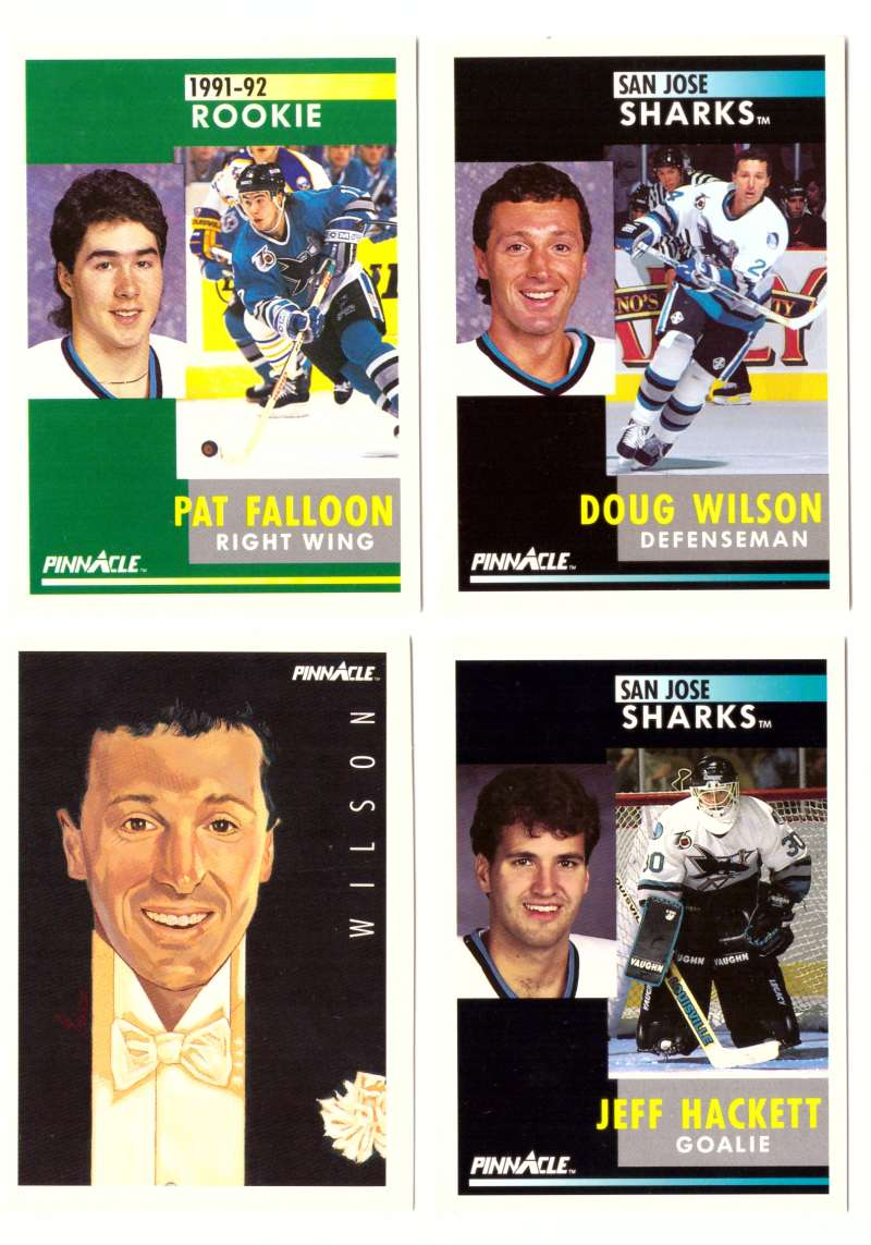 1991-92 Pinnacle Hockey Team Set - San Jose Sharks