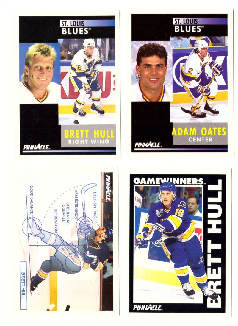 1991-92 Pinnacle Hockey Team Set - St. Louis Blues