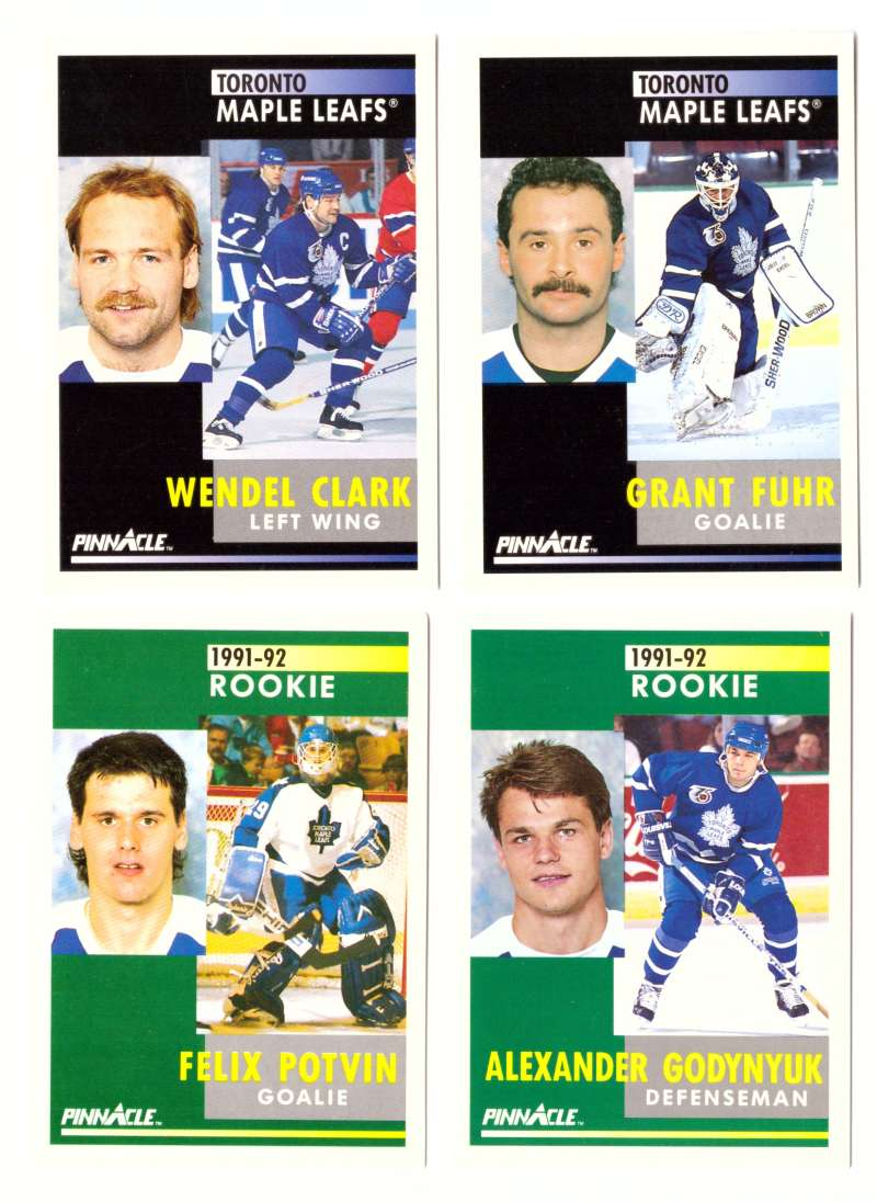 1991-92 Pinnacle Hockey Team Set - Toronto Maple Leafs