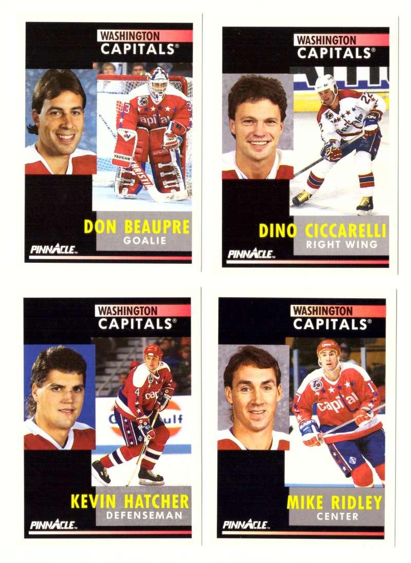 1991-92 Pinnacle Hockey Team Set - Washington Capitals