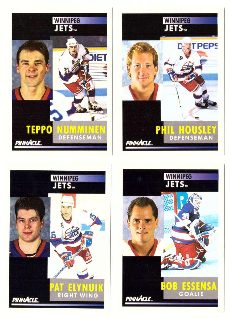 1991-92 Pinnacle Hockey Team Set - Winnipeg Jets