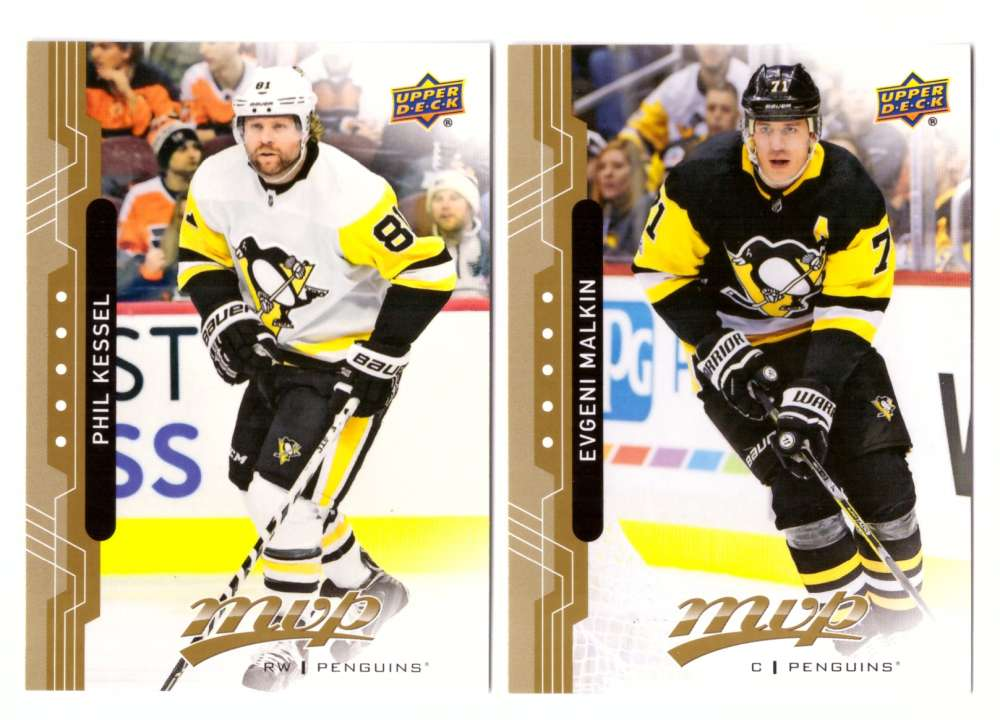 2018-19 Upper Deck MVP (Base 1-200) Hockey Team Set - Pittsburgh Penguins