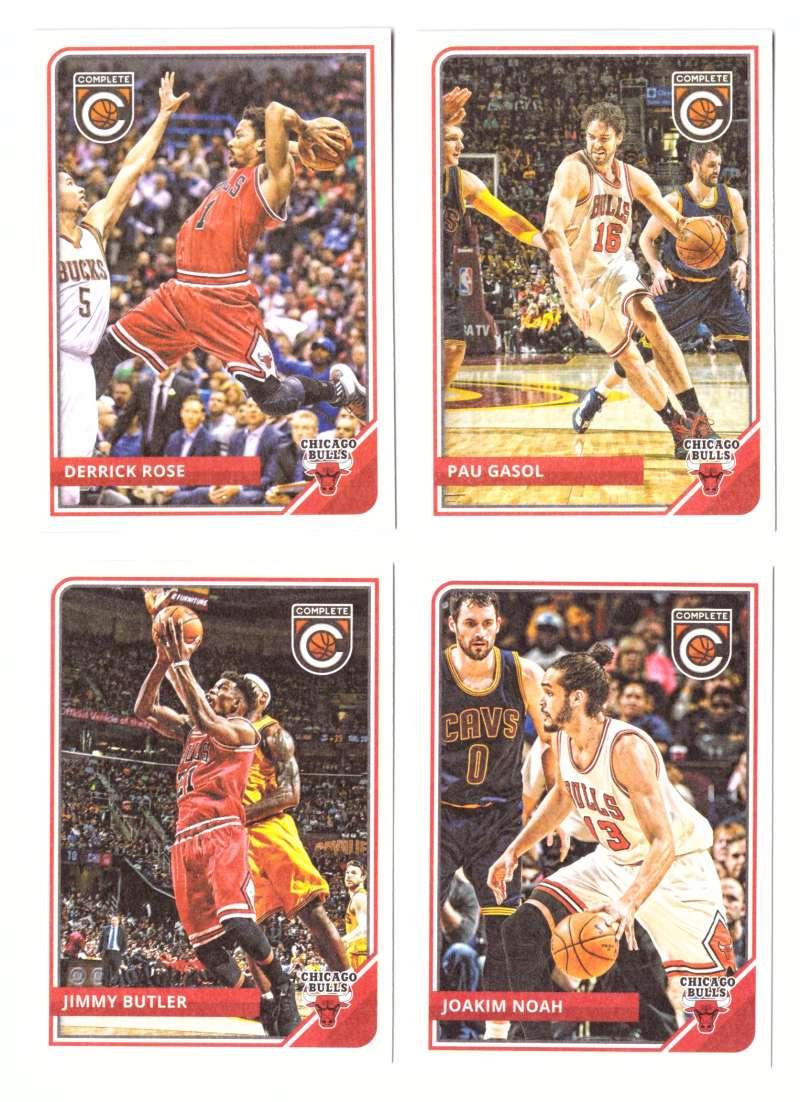 2015-16 Panini Complete Basketball Team Set - Chicago Bulls