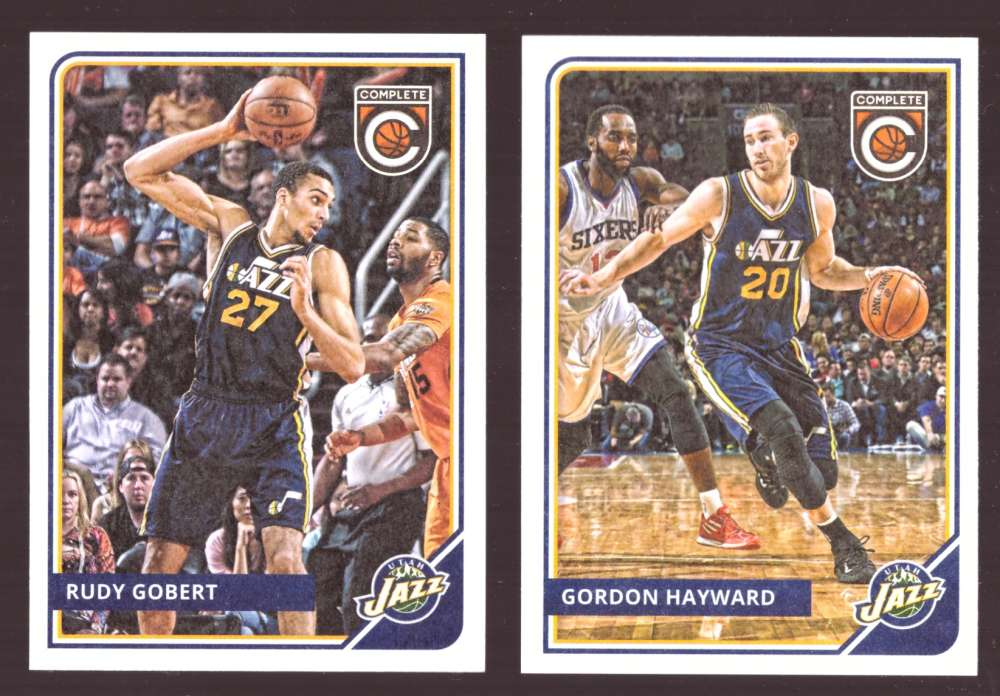 2015-16 Panini Complete Basketball Team Set - Utah Jazz