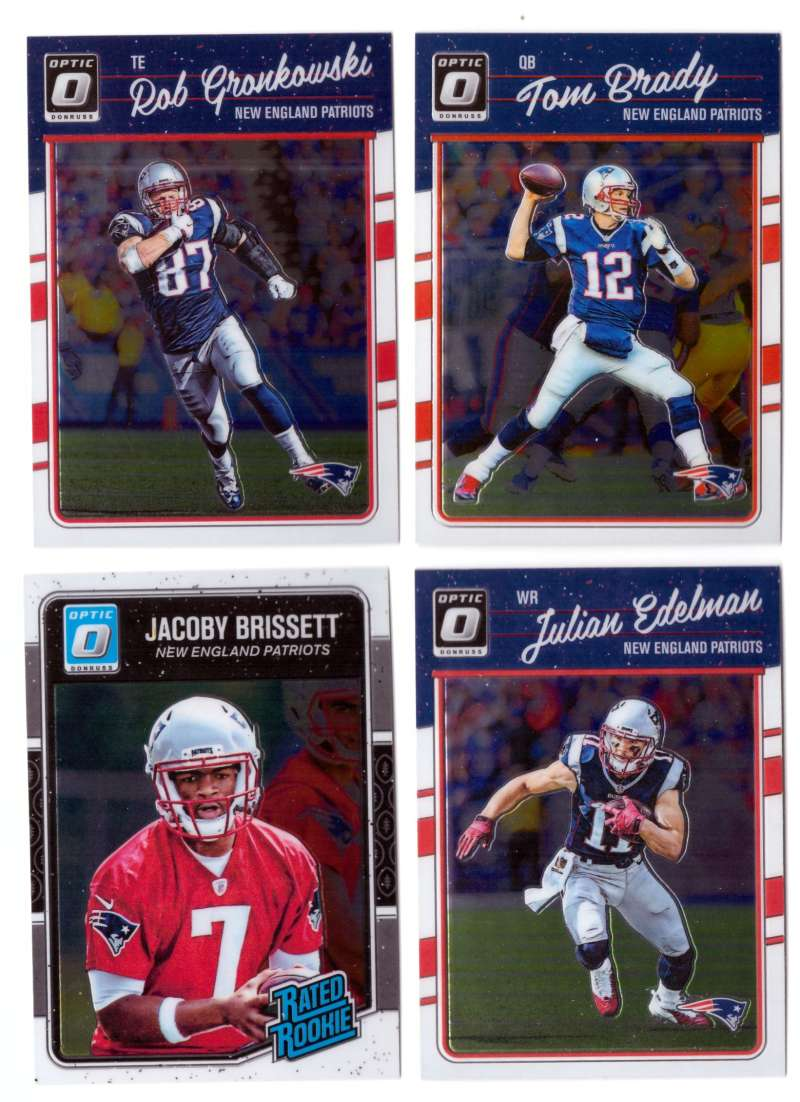 2016 Donruss Optic Football - NEW ENGLAND PATRIOTS