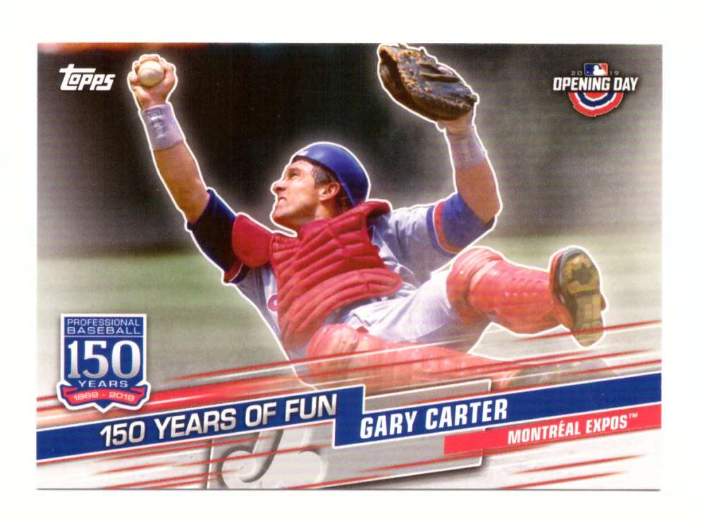 2019 Topps Opening Day 150 Years of Fun - MONTREAL EXPOS